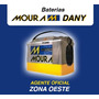 Bateria Moura Para Tractor Corta Cesped Msa 23 Ue - 12x24