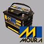 Bateria Moura 12x 75 Nueva Venta Al Publico Zona Sur