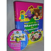 Manual De La Maestra De Preescolar +1 Cd-rom /oceano
