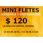 Mini Fletes,zona Sur,traslados,mascotas,envios,distribucion