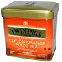 Twinings Ceylon Orange Pekoe Tea 100grs Lata Recien Llegado!