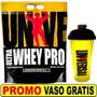 Proteina Ultra Whey Universal 10 Lbs 4.5 Kgs Vainilla + Vaso