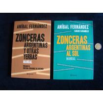 Lote X 2. Zonceras Argentinas. Aníbal Fernández, Envio Grat