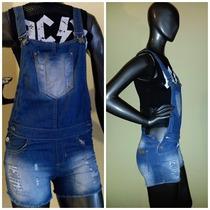Enterito Jardinero Jeans Elastizado Talle 36 - G & G Denim