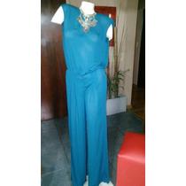 Mono Tipo Seda Zara Color Azul Petroleo, Divinooo