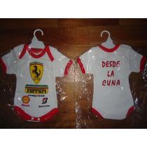 Exclusivo Body Enterito Recien Nacido De Ferrari