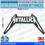 Calcomanias 3d Con Relieve, Resina Importada Metallica
