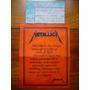 Entrada Metallica Forum De Los Angeles Feb 12 1992 Eeuu