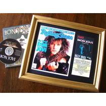 Bon Jovi - Dvd & Ticket Entrada 1993 Europa Tour