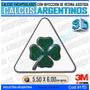 Calcomanias 3d Con Relieve, Resina Importada Logo Alfa Romeo