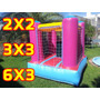 Alquiler Castillos Inflables Chicos 2x2-3x3-6x3 Plaza Blanda