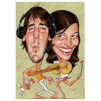 Caricaturas En Fiestas Y Eventos Como Show O Souvenir