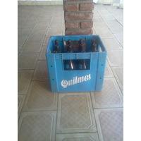 Cajon Cerveza Quilmes Con Envases