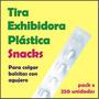 Tira Exhibidora Snacks X 250 Unidades Para Colgar Bolsitas
