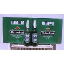 Cajones De Envases De Cerveza Heineken