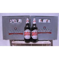 Cajones De Envases De Cerveza Schneider