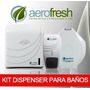 Kit Dispenser Eco Jabon Liquido + Higienico + Toallas Papel