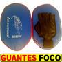 Guantes Foco Pro The Big Tiger El Par Combinado Rojo Y Azul