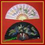 Abanicos Para Artes Marciales Y Decoracion (tela Opaca)