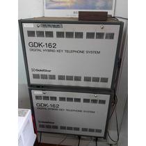 Central Telefonica Goldstar Dgk-162, 100 Internos Y 4 Lineas