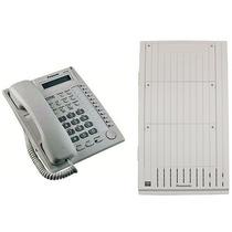 Central Telefonica Panasonic Td1232 8x16 + Kxt7730 Tel Intel