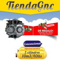 Sitec Cordoba Equipo Gnc Convencional 2 Cilindros 10m3 80 Lt