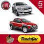Fiat Siena 1.4 Strada 1.6 Eq Gnc 5ta Gen + 2 Tubo 7,5m3 60lt