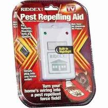 Riddex Plus Repelente Ultrasonico Ratas Insectos 1 Año Gtia