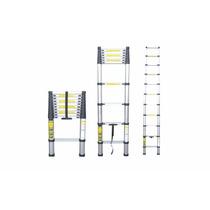 Escalera Telescopica Aluminio Extensible 3,8 Metros-