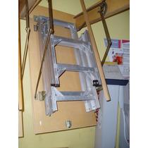 Escalera Rebatible De Altillo De Aluminio Okm De Fabrica Okm