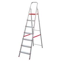 Escalera Domestica Aluminio 7 Escalones Esc0066