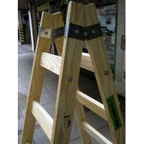 Escalera De Madera Tipo Pintor De 9 Peldaños