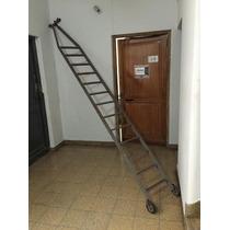 Escalera Metalica 13 Escalones Reforzados 3 X 0.40 X 0.20