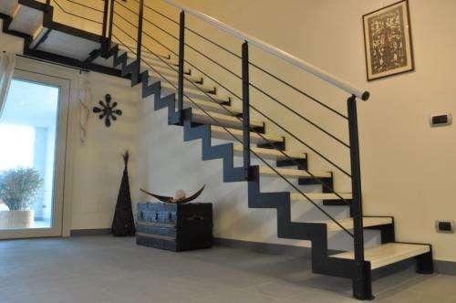 Baranda escalera hierro imagui - Barandas de madera para escaleras ...