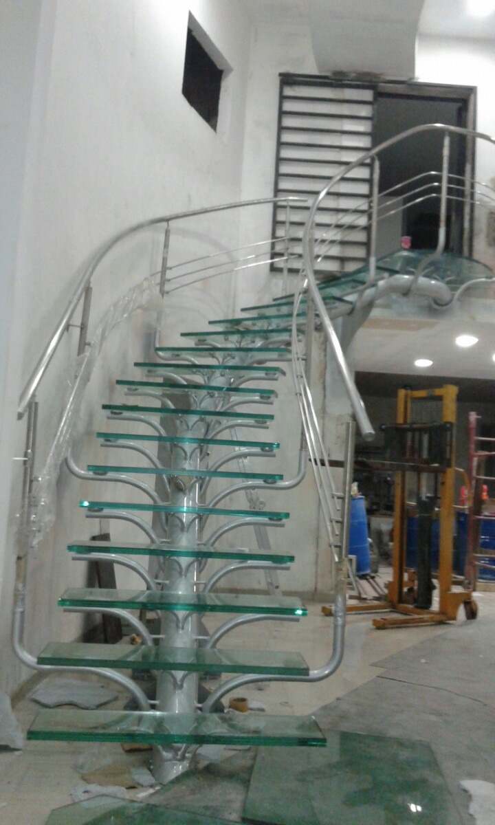 Escaleras rectas compensadas standar y de dise o - Escalera de diseno ...