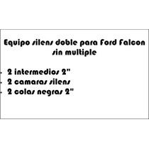 1/2 Equipo Silens Doble Falcon