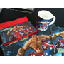 Set De Colonia Mantel Servilleta Taza Toalla Batman Thor