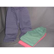 Pantalon Nena/e Doble Frisa Bolsillos Varios Colores