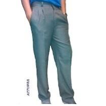 Pantalon Sarga Colegial Gris/azul T.12 Casa Suery