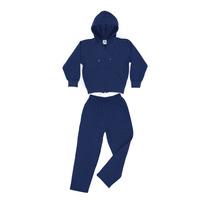 Conjunto Frisa Con Capucha Ely T.10/12 Casa Suery (azul)