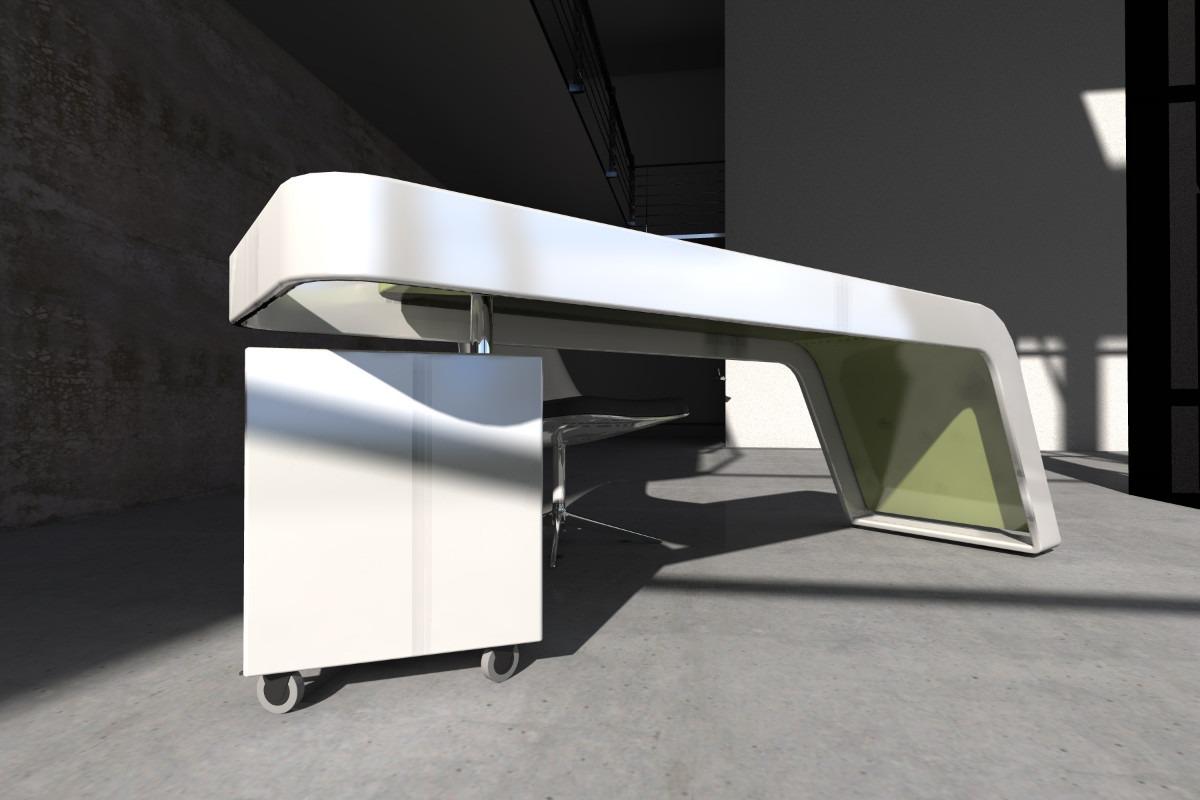 Muebles oficina mesa hd 1080p 4k foto for Mesas escritorio diseno