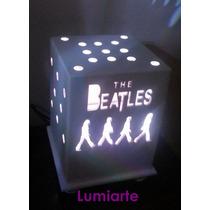 Luz De Noche Beatles Grupos Musicales Velador Lumiarte