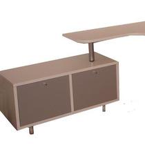Mueble Bajo Escritorio De 100x 40x 40cm En Melam Bca De 25mm