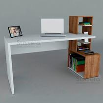Escritorio Moderno Mesa Pc Biblioteca Mueble Repisa