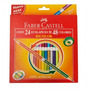 Lapices De Color Pinturitas Faber Castell Eco X 24 Bicolor