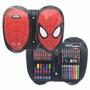 Set De Arte Hombre Araña Con Marcadores Crayones Mundomanias