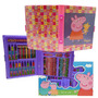 Set De Arte Peppa Pig Con Marcadores Y Crayones Mundo Manias