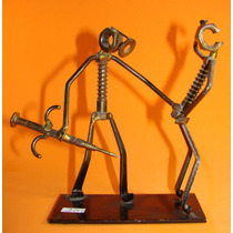 Genial Escultura Artesanal / Doctor Paciente /comica # 2125