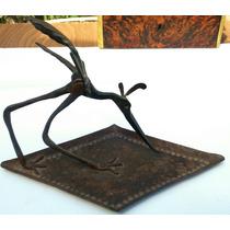 Escultura En Hierro Forjado (ave)