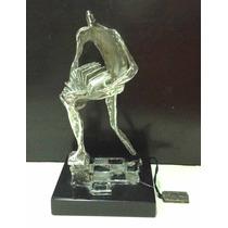 Antonio Pujia Bandoneonista Mini Escultura En